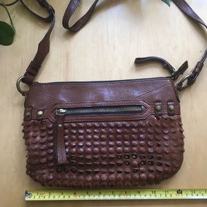 Brown Crossbody Oryany Leather purse